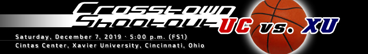 Crosstown Shootout: December 7, 2019 at 5:00 p.m. (FS1)